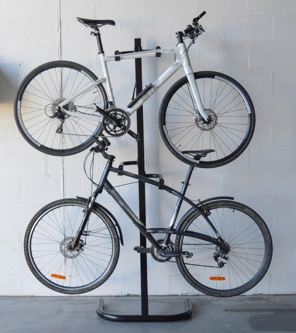 Rangement 2 vélos - support mobile